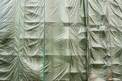 Scaffolding curtain Royalty Free Stock Photos