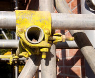 Scaffolding detail Royalty Free Stock Photo