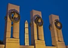 Scaffolding-Encased Washington Monument Royalty Free Stock Photography