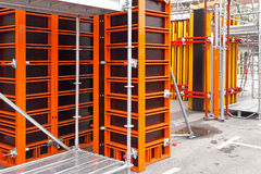 Scaffolding formwork Royalty Free Stock Images