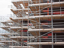 Scaffolding framework Royalty Free Stock Photography