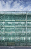 Scaffolding on a house Royalty Free Stock Image