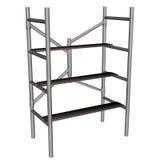 Scaffolding ladder - 3D render Stock Photo