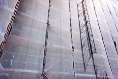 Scaffolding netting Royalty Free Stock Images