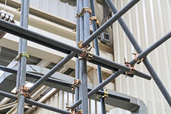 Free Scaffolding Pipe Clamp And Parts Royalty Free Stock Photo - 73879355