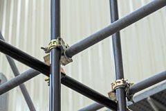 Free Scaffolding Pipe Clamp And Parts Royalty Free Stock Image - 73881086