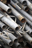 Scaffolding pipes Royalty Free Stock Image