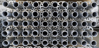 Scaffolding pipes Royalty Free Stock Photography
