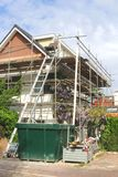 Renovation of a modern detached home Stock Photos