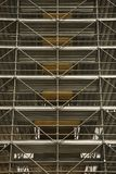 Scaffolding in Rome. Stock Images