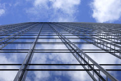 Scaffolding in the sky Royalty Free Stock Photos