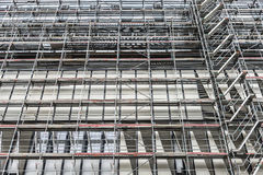Scaffolding on a skyscraper in Germany Royalty Free Stock Photo