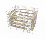 Scaffolding Square Stock Photography