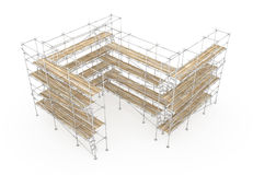 Scaffolding Structure Royalty Free Stock Photos