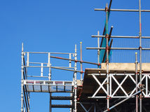 Scaffolding tower Stock Image