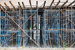 A Scaffolding is used to construct Royalty Free Stock Image