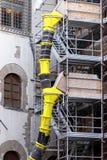 scaffoldings конструкции стоковые изображения rf