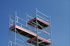 Scaffoldings Royalty Free Stock Image