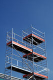 Scaffoldings Royalty Free Stock Photo