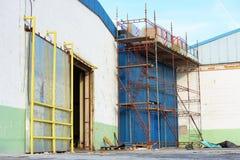 scaffoldings Obrazy Royalty Free
