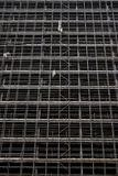 Scafolding. Abandoned stainless steel scafolding and building site Royalty Free Stock Images