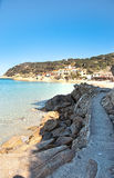 Scaglieri BEACH, ELBA ISLAND. Royalty Free Stock Photography