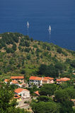 Scaglieri Village on Elba Island, Italy Royalty Free Stock Photography