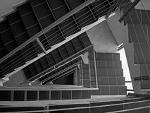 Scala Fotografie Stock