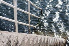 Scala in acqua Immagine Stock Libera da Diritti
