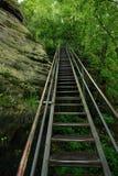 Scala alta sull'itinerario turistico Immagine Stock Libera da Diritti