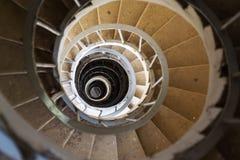 Scala a chiocciola alla torre dell'allerta del minareto, Lednice Valtice, repubblica Ceca Immagine Stock Libera da Diritti
