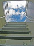 Scala a cielo Fotografie Stock Libere da Diritti