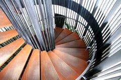 Scala circolare Fotografie Stock