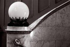 Scala con marmo Fotografia Stock Libera da Diritti