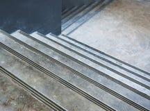 Scala concrete vuote Fotografia Stock