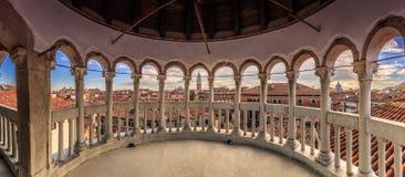 Scala Contarini del Bovolo Венеция стоковые фотографии rf