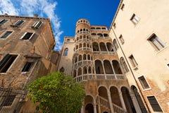 Scala Contarini del Bovolo - Venezia Italy Royalty Free Stock Photo