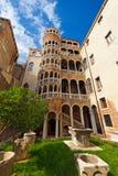 Scala Contarini Del Bovolo, Venezia Włochy - Obraz Royalty Free