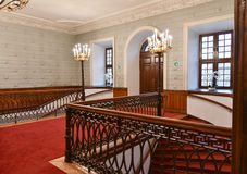 Scala in corridoio Fotografia Stock