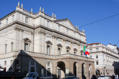 Scala d'alla de Teatro Photo libre de droits