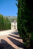 Scala Dei修道院, Priorat (亦称Priorato),西班牙废墟  免版税图库摄影