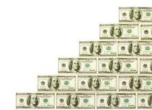 Scala dei contanti dei soldi Fotografie Stock Libere da Diritti