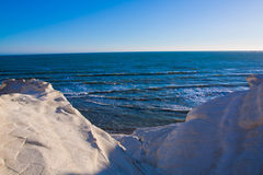 Scala dei Turchi - Agrigento, Italy Stock Photography