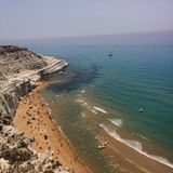 Scala dei turchi Stock Photography
