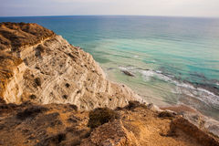 Scala dei Turchi. Rocky cliff on the coast of Realmonte, southern Sicily, Italy Stock Photo