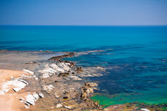 Scala dei Turchi, Sicily Royalty Free Stock Photos