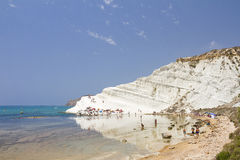 Scala dei Turchi, Sicily Royalty Free Stock Images