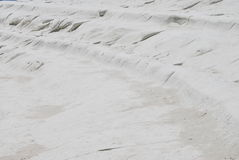Scala dei Turchi, Sicily. A detail of the natural geological formation called Scala dei turchi. It's situated in Sicily near the town of Agrigento, Italy Royalty Free Stock Images