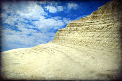 Scala dei Turchi, Sicily, Italy Royalty Free Stock Photo