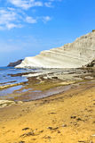 Scala dei Turchi, Sicily, Italy Royalty Free Stock Photography